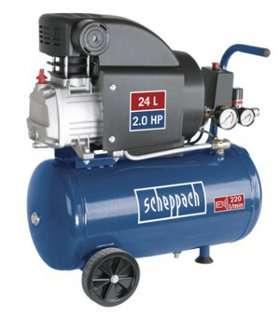 Scheppach hc25 paineilmakompressori