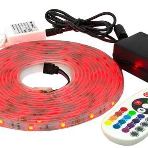 LED-NAUHASARJA IP65 5M RGB 500LM/M