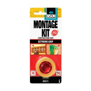 Bison Montage Kit Asennusteippi kaksipuolinen