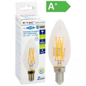 LED-POLTTIMO 4W E14 2700K 400LM HIMM V-TAC