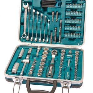 P-90635 Makita Työkalu- ja tarvikesarja 118-osaa
